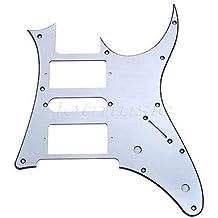 FidgetGear 1 pieza de golpeador de aluminio para guitarra eléctrica HSH cepillado para Ibanez RG 250