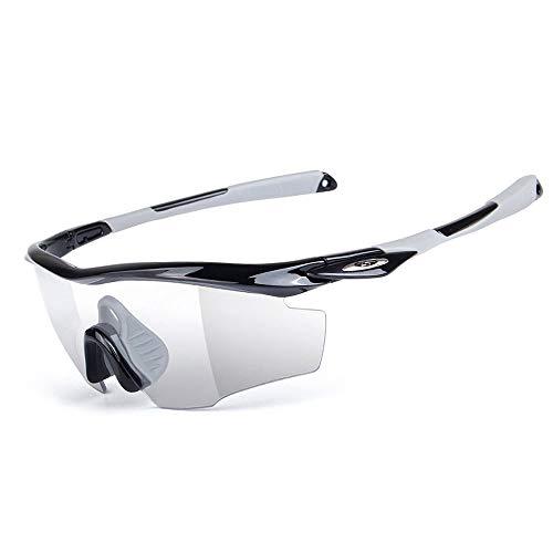 WOUX Fahren Reiten Objektiv Sonnenbrille Mit Für Motorrad Fahrrad Outdoor-Aktivitäten Sport Intelligente Brille (Color : Red)