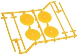 3RACING RC Model Model Model Hop-ups WH-06/YE 1/10 Type Set Holder (4 pcs) - Yellow   Dans Plusieurs Styles  1fbe51