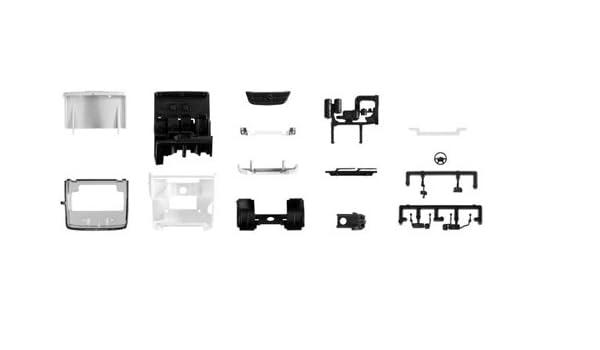 Neu Herpa 084697  Fahrgestell Mercedes-Benz Econic für Kofferaufbau 1 Stück