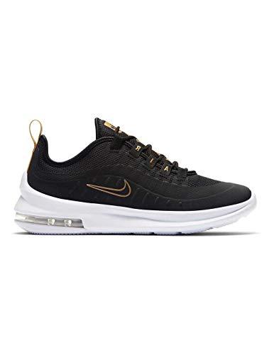 Nike Air MAX Axis Vtb (GS), Zapatillas de Running para Asfalto para Niñas, Multicolor (Black/Black-White-Metallic Gold 001), 38 EU