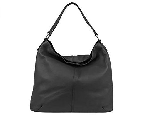 Kooba Leder Hobo-Tasche–Schwarz (Kooba Handtasche Schwarz)