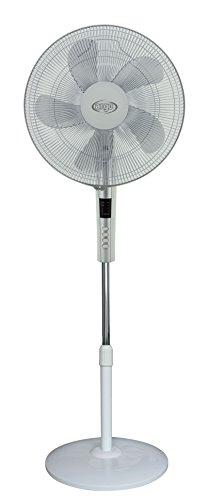 Argoclima Standy Ventilatore a Piantana, Diametro 40 cm, 5 Pale, 3 Velocità, Bianco