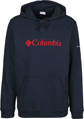 Columbia Herren CSC Basic Logo II Kapuzenpullover, Collegiate Navy, M (Columbia Sweatshirt Baumwolle)