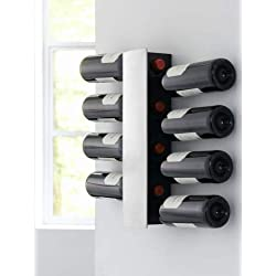 Estantería de pared para botellas de vino. 8 botellas