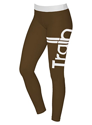 Kuuboo - Leggings sportivi - Attillata  -  donna Brown