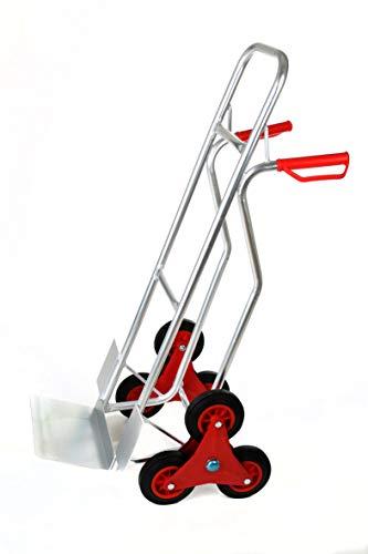Sackkarre Treppensteiger Aluminium, Tragkraft 150 kg