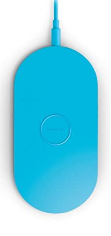 Nokia DT-900 Wireless Charging Plate Drahtloses Tragbares Ladegerät für Lumia 820/920/925/930/1020/1520 (3-pin UK Netzstecker) - Blau