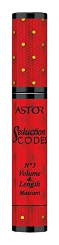 Astor Seduction Codes Volume und Length Mascara, 800 schwarz, 1er Pack (1 x 11 ml)