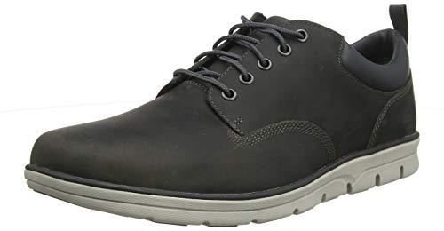 Timberland Bradstreet 5 Eye, Zapatos de Cordones Oxford para Hombre, Gris MD Grey Full Grain, 44.5...