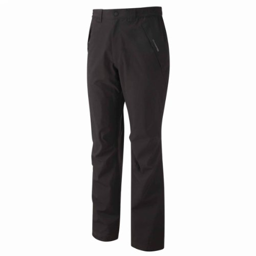 The Craghoppers Men's Stefan Waterproof Trousers come in offering a waterproof rating of 20000mm and therefore, you are guaranteed to stay dry. The breathable pair of trousers features polyester fabric together with an AquaDry Membrane that is durable. There is additionally an inner mesh lining to keep you comfortable as you tackle the outdoors.
