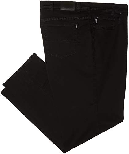 Pionier Jeans & Casuals Herren Straight Jeans Thomas Pure Comfort, Schwarz (Black 00), W46/L34 (Herstellergröße: 62)