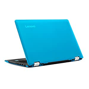mCover Hard Case for 14 Inch Yoga 510 (**NOT compatible with newer 14-inch Yoga 530 / Yoga 520 series **) laptop computer (Lenovo Yoga 510, Aqua)
