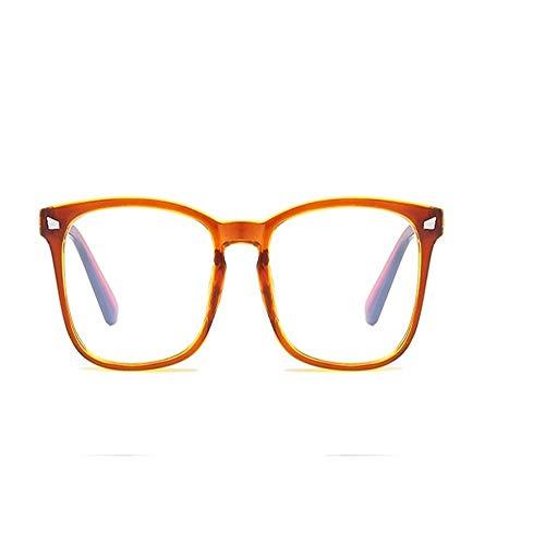 XCYQ Brillengestell Frauen Brillengestell Männer Brillengestell Vintage Quadrat Brille Optische...