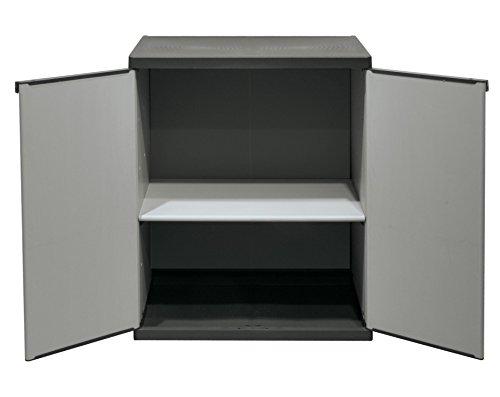 Galleria fotografica Mongardi 7815C04,Armadio Basso, colore grigio