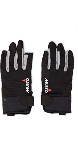 guanti barca a vela Musto Essential Long Finger Sailing Gloves - 2018 - Black XL