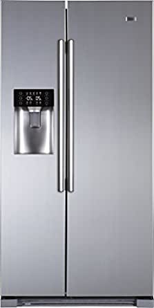 Haier HRF-628IF6 Frost-free Side-by-Side Refrigerator (628 Ltrs, Stainless Steel)
