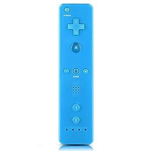 Gamepad für Nintendo Wii, Game Handle Controller Gamepad mit analogem Joystick für Nintendo WiiU/Wii Console(Blau)
