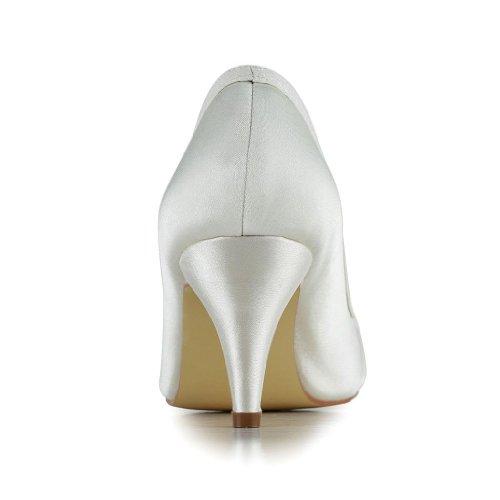 Jia Jia Wedding 5949413 chaussures de mariée mariage Escarpins pour femme Beige