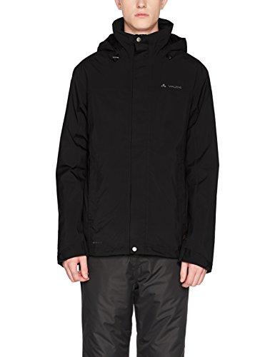 VAUDE Herren Kintail 3in1 Jacket III Doppeljacke, Black, XXL