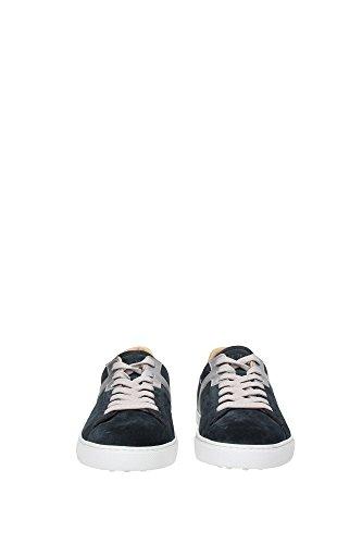 XXM0XY0O670CKT178X Tod's Sneakers Uomo Camoscio Blu Blu