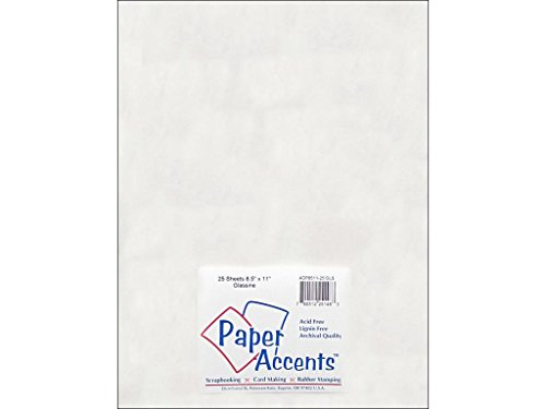 Accent Design Paper Accents Glossy8.5x11Black