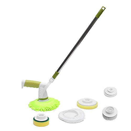 Mop elettrico rotante senza fili pulitore manuale rotante mop di pulizia lavapavimenti ricaricabile per bagno e cucina