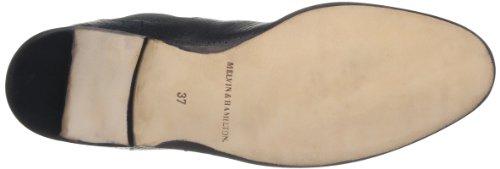 Melvin & Hamilton Susan 10, Bottes Chelsea Femme Noir (Salerno Perfo Black)