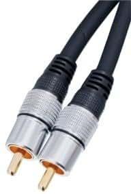 HQ Digital Koaxial Cinch Kabel (10 m)