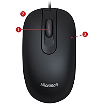 Microsoft 200 JUD-00003 Wired Optical Mouse