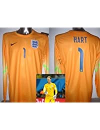 e84e6397e Umbro England JOE HART Goalkeeper Shirt Jersey BNWT Adult Small Large XL Man  City Football Soccer