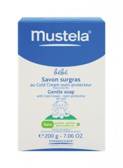 Mustela Gentle Soap with Cold Cream for Kid 7.06 Ounce