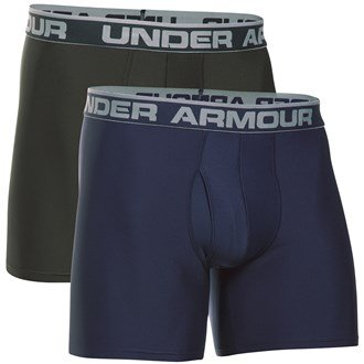 Under Armour Men's O Series 6'' Boxerjock 2 Pk-mdn//atg Boxer Jock