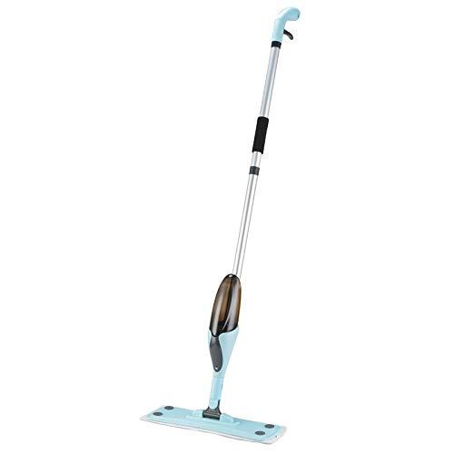 rofaser-Mopp-Sprühreiniger für Fußböden mit 4 Pads und Schaberflasche Geeignet für Hartholz-, Marmor-, Fliesen-, Laminat- oder Keramikfußböden ()