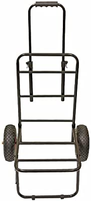 Michigan Heavy Duty Folding Seat Box Compact Fishing Trolley by Michigan