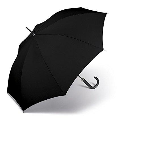 happy rain selection Regenschirm Stockschirm Long AC Kinematic mit Automatik black / schwarz