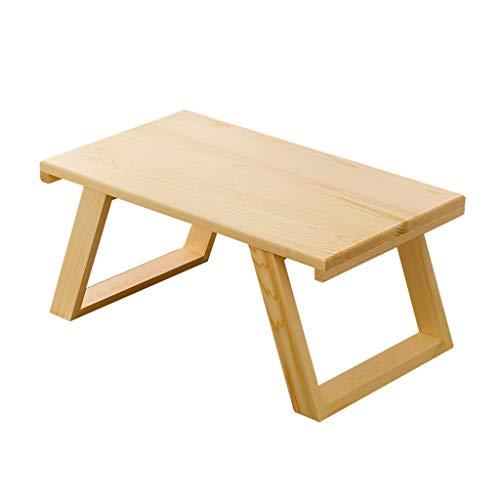 Massivholz Niedriger Tisch, Haushalts-Multifunktion Small Child Dining Tisch Lernen Sie den Tisch lesen, den Tee im japanischen Stil Tea tabl Student Dorm Zimmer Notebook ,70*40*30CM -