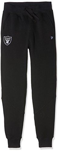 New Era Ne97038Fa16 Nfl Track Oakrai - Pantaloni da sport-Linea Oakland Raiders da Uomo, colore Nero, taglia L