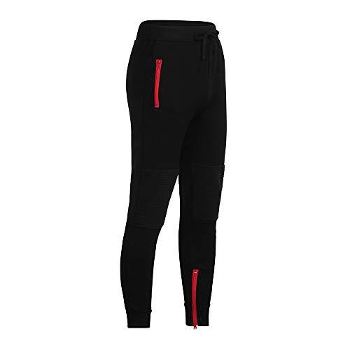 5d373b45f3c8 ODRD Männer Yoga Hosen Herren Pants Reißverschlusshose mit Reißverschluss  Laufhose Sweathose Strumpfhosen Jogging Trainingshose Sweatpants  Freizeithose ...