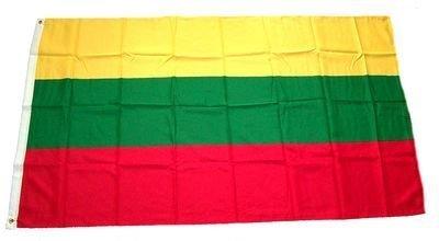 Fahne Flaggen LITAUEN 150x90cm