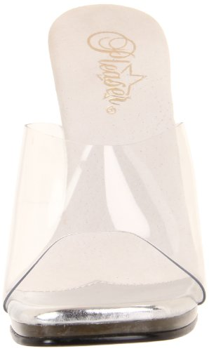 Pleaser Chic01/c/m, Escarpins femme Transparent (Clear)