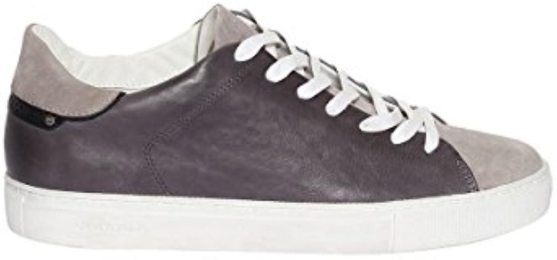 CRIME London Schuhe Beat Sneaker Anthracite Herren