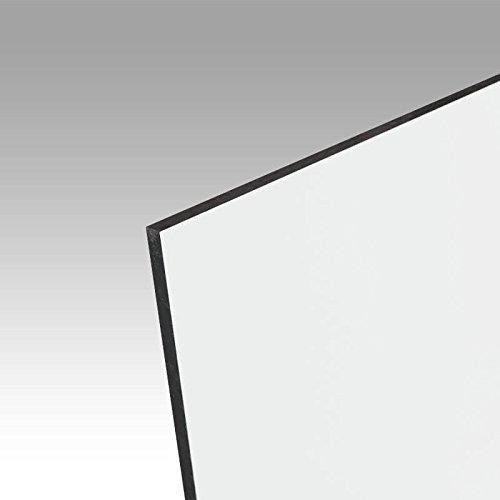 Alu-Verbundplatte A-LITE® Ultra weiß matt, für Sieb- und Digitaldruck, Messebau, Beschilderung, Maße: 100 x 50 cm, Stärke: 2 mm