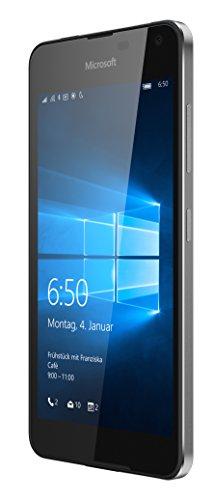 Microsoft Lumia 650 16GB 4G Color Negro - Smartphone  SIM   nica  Windows 10  NanoSIM  GSM  WCDMA  LTE   version alemana