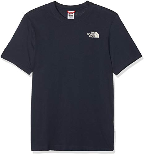 THE NORTH FACE Herren Red Box T-Shirt, Urban Navy/Vintage White, S