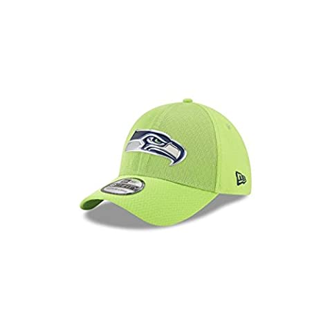 New Era - Casquette NFL Seattle Seahawks 2017 On Field Color Rush 39THIRTY taille casquette - M/L (56-61cm)