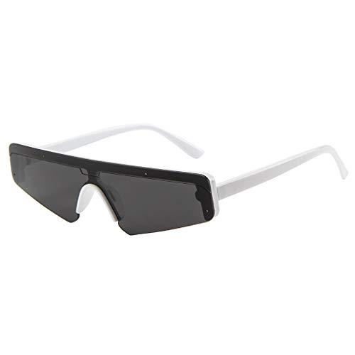 Feifish Brillengestell-Brillengläser der Damekatzenaugen-Sonnenbrille Unisex Sonnenbrille Vintage schmale Cat Eye sonnenbrille herren Sonnenbrillen, große Augenbrauen Sonnenbrillen brille