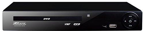Takara KDV99B - Reproductor de DVD (conexión USB, MPEG), color negro
