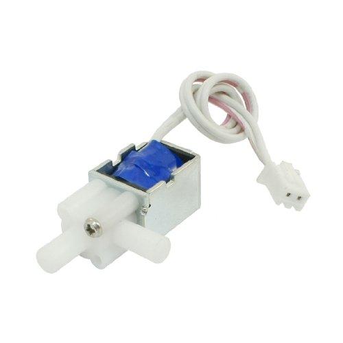 Sourcingmap 1mm 80g 2mm 20g 12V 1,6W Open Frame DC Wasser Magnetventil w Kabel -