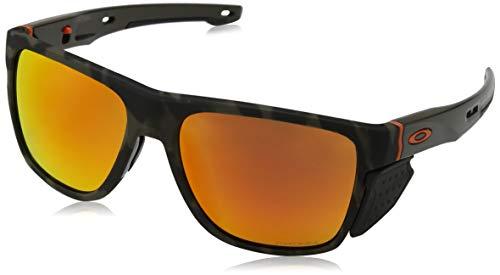Oakley Herren Crossrange Xl 936011 Sonnenbrille, Mehrfarbig (Matte Olive Camo), 58